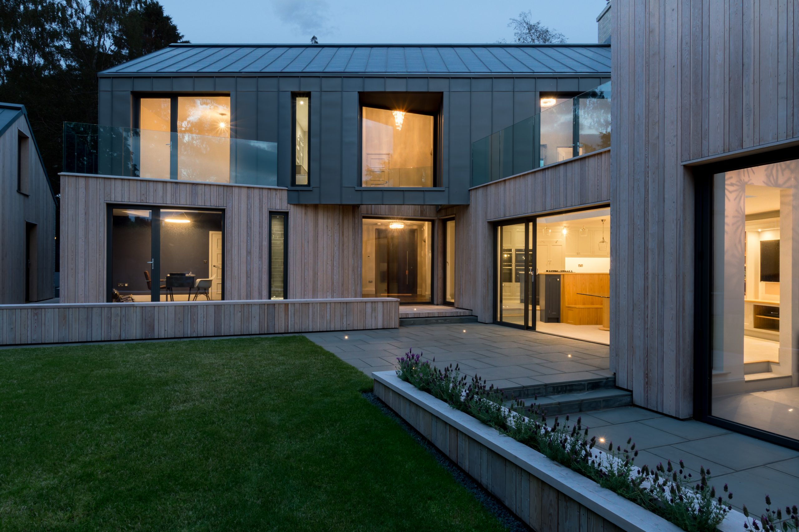 Orchard-Gap-Nightime view- rear