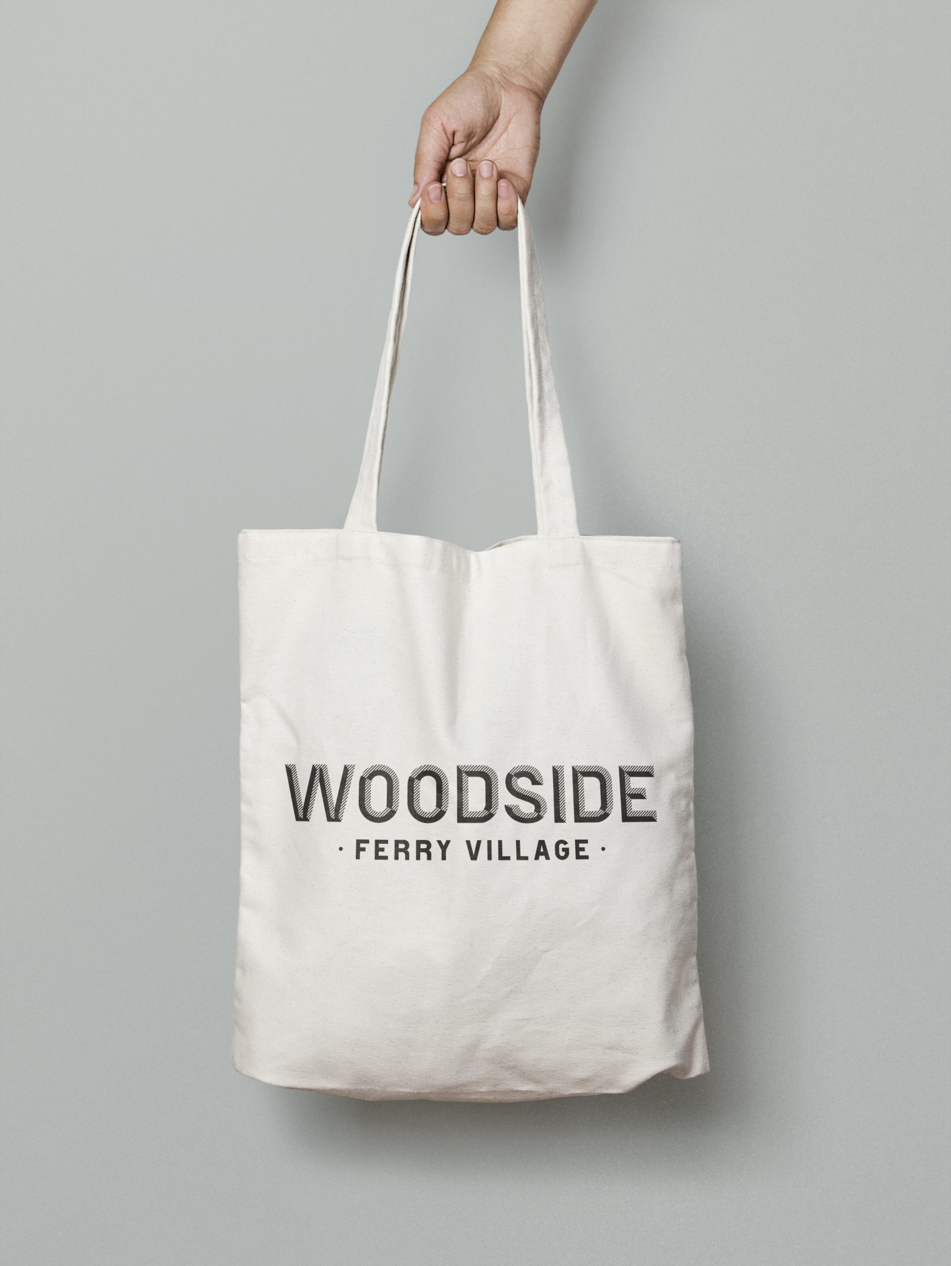 Woodside – Canvas Tote Bag MockUp